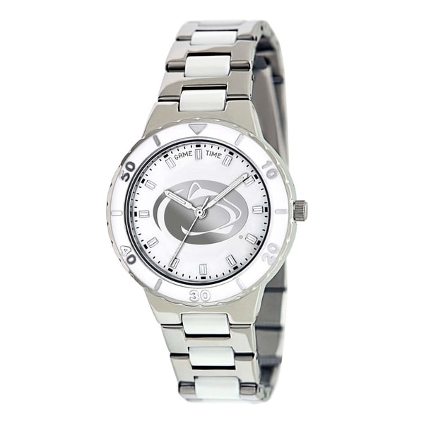 Game Time Penn State Nittany Lions Logo Pearl Watch