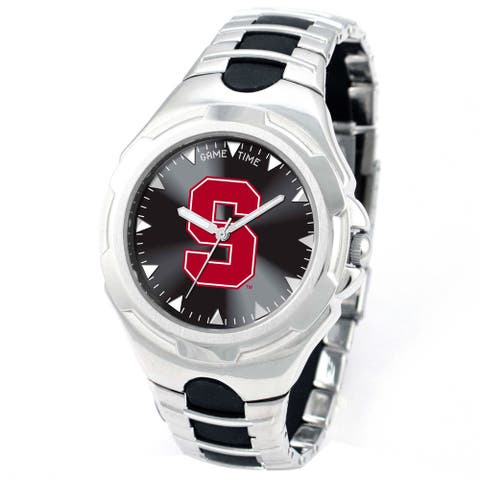 Game Time Stanford Cardinals Logo Pearl Watch