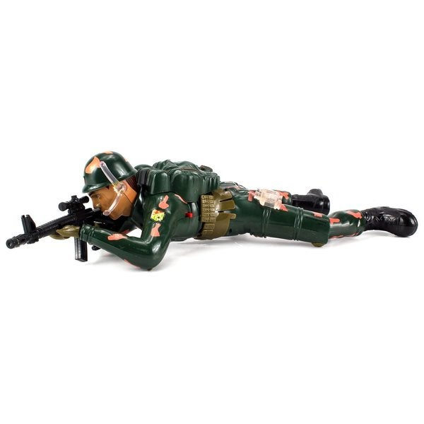 Velocity Toys Crawling Flash Corp Army Soldier Battery Operated Toy Action Figure 16168861