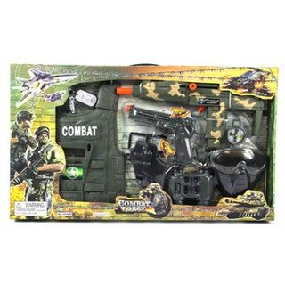 Velocity Toys Combat Force Army Friction Toy Gun Complete Combo Set