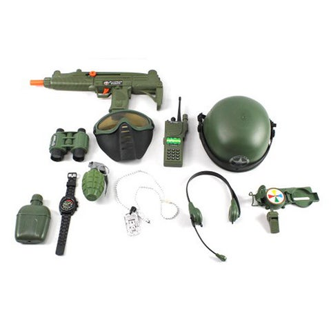 Velocity Toys Special Combat '570 Force Army Friction Toy Gun Complete Combo Set