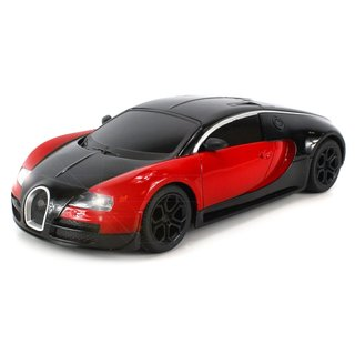 Velocity Toys Diecast Bugatti Veyron Super Sport Electric RC Car Full Metal Body 1:24 RTR