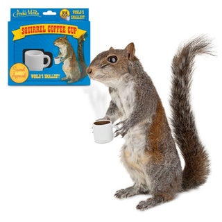 Small Squirrel Coffee Cup