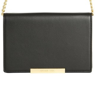 Michael Michael Kors Lana Wallet Clutch on a chain Black/Gold