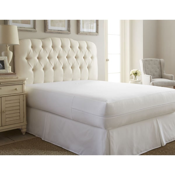target bed bug pillow protector walmart encasement box spring merit linens zippered mattress