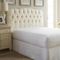 Merit Linens Zippered Bed Bug Mattress Encasement - White