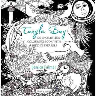 Tangle Bay: An Enchanting Colouring Book With Hidden Treasure (Paperback)