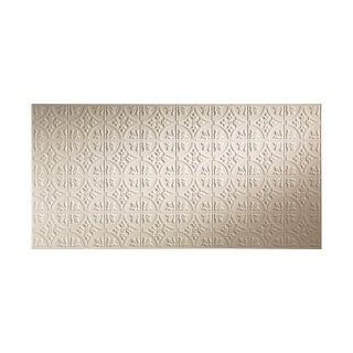Fasade Traditional Style #2 Almond Wall Panel (4'x8')