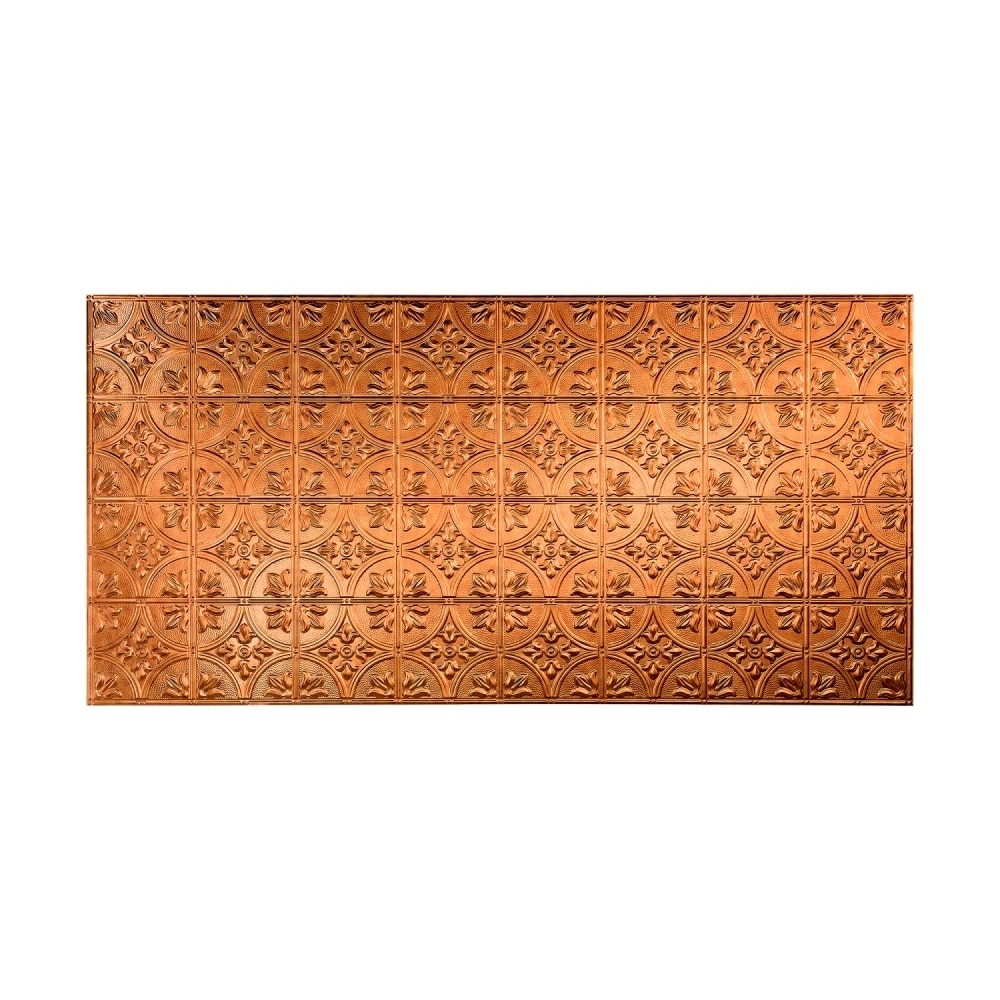 Fasade Traditional Style #2 Antique Bronze Wall Panel (4x8) (Sample)