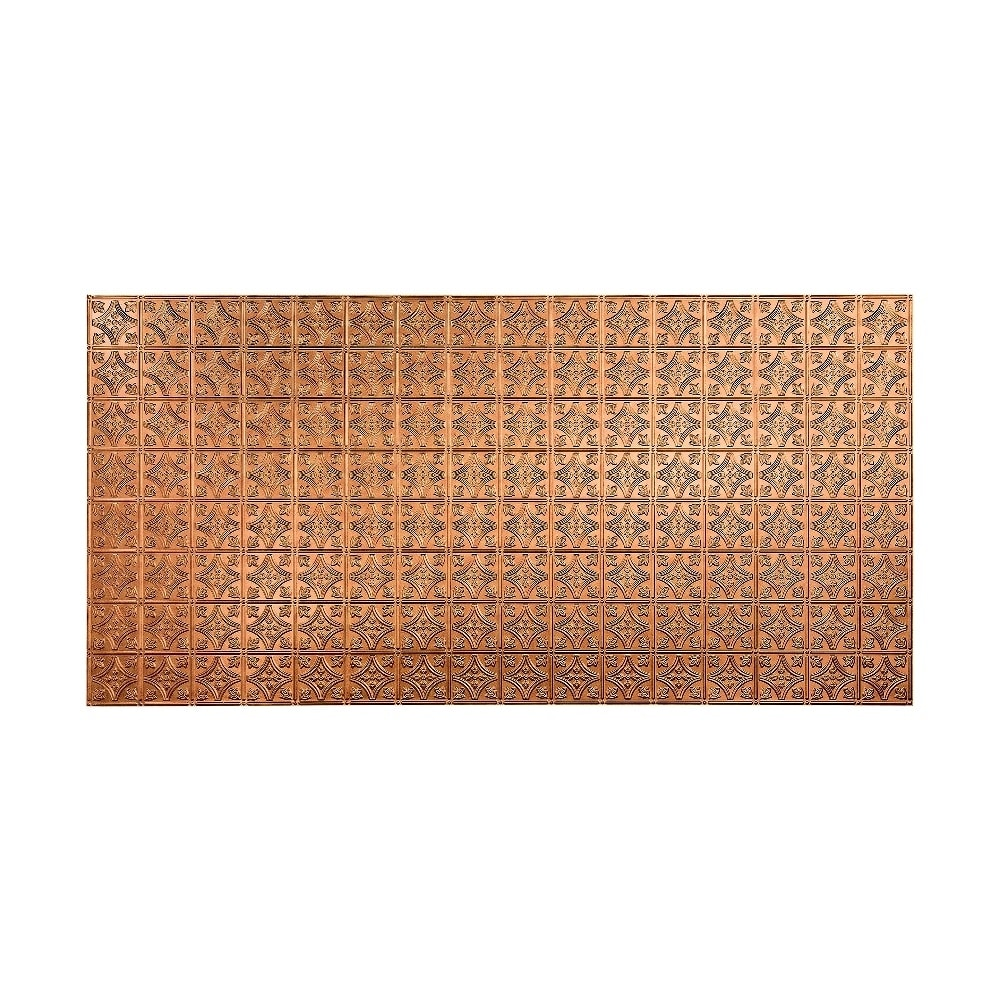 Fasade Traditional Style #1 Antique Bronze Wall Panel (4x8) (Sample)