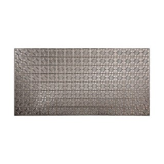 Fasade Traditional Style #1 Brushed Nickel Wall Panel (4'x8')