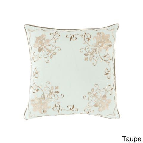 Decorative Annabel Damask 20-inch Throw Pillow