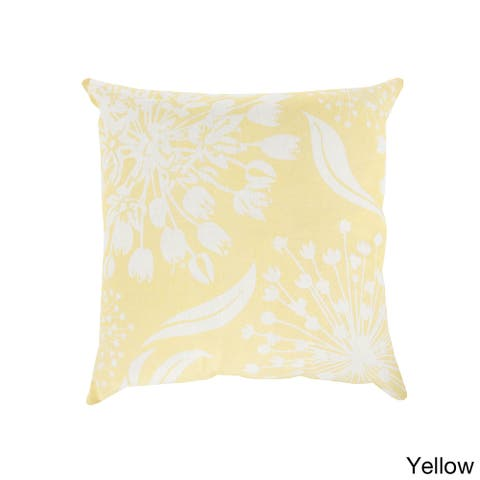 Decorative Cortez Floral 22-inch Throw Pillow