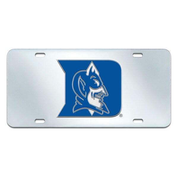 Fanmats Duke Blue Devils Collegiate Acrylic License Plate Inlaid