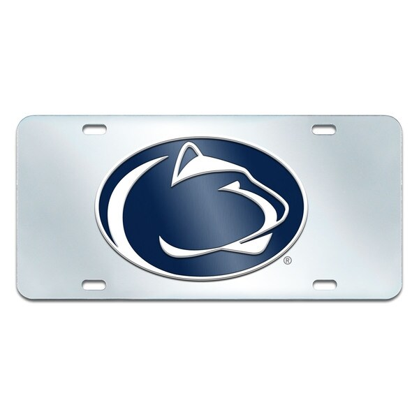 Fanmats Penn State Nittany Lions Collegiate Acrylic License Plate Inlaid