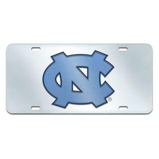 Fanmats North Carolina Tar Heels Collegiate Acrylic License Plate Inlaid
