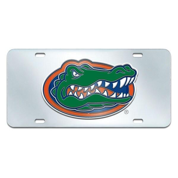 Fanmats Florida Gators Collegiate Acrylic License Plate Inlaid