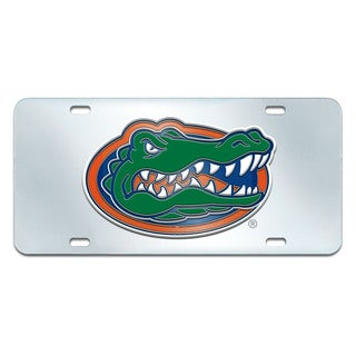 Fanmats Florida Gators Collegiate Acrylic License Plate Inlaid