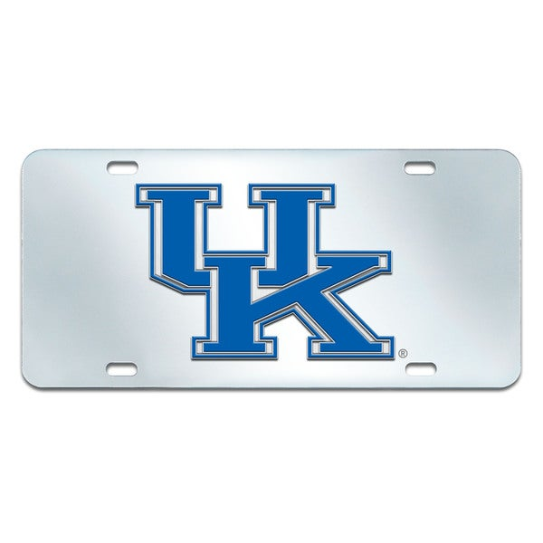 Fanmats Kentucky Wildcats Collegiate Acrylic License Plate Inlaid