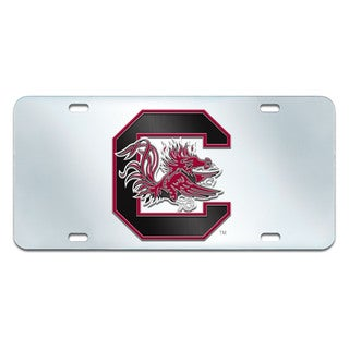 Fanmats South Carolina Gamecocks Collegiate Acrylic License Plate Inlaid