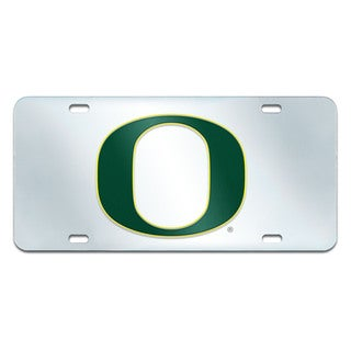 Fanmats Oregon Ducks Collegiate Acrylic License Plate Inlaid
