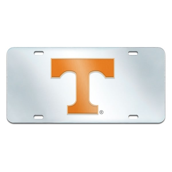 Fanmats Tennessee Volunteers Collegiate Acrylic License Plate Inlaid