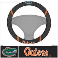 Fanmats Florida Gators Black Fabric Steering Wheel Cover