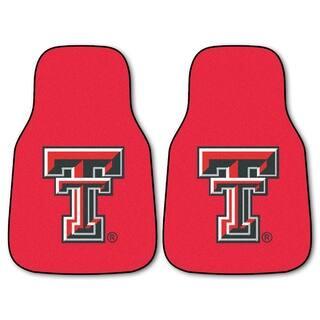 Fanmats Texas Tech Raiders 2-piece RedCarpeted Car Mat Set|https://ak1.ostkcdn.com/images/products/10526946/P17609629.jpg?impolicy=medium