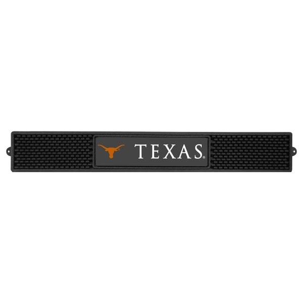 Fanmats Texas Longhorns Charcoal Rubberized Drink Mat