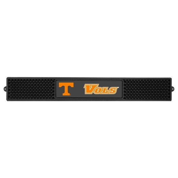 Fanmats Tennessee Volunteers Charcoal Rubberized Drink Mat