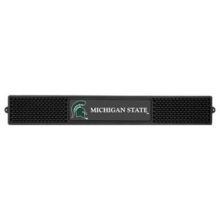 Fanmats Michigan State Spartans Charcoal Rubberized Drink Mat