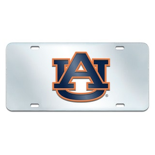Fanmats Auburn Tigers Collegiate Acrylic License Plate Inlaid