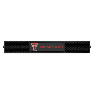 Fanmats Texas Tech Raiders Charcoal Rubberized Drink Mat