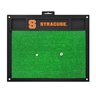 Fanmats Syracuse Orange Green Rubber Golf Hitting Mat