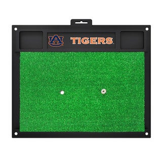 Fanmats Auburn Tigers Green Rubber Golf Hitting Mat