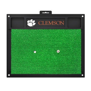 Fanmats Clemson Tigers Green Rubber Golf Hitting Mat