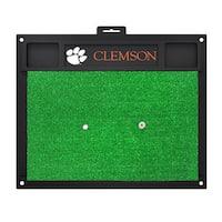 Fanmats Clemson Tigers Green Rubber Golf Hitting Mat