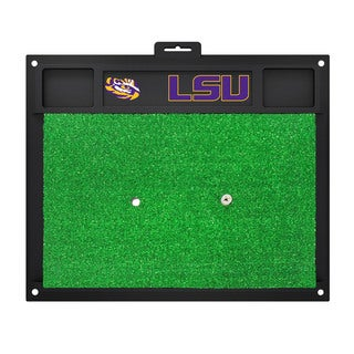 Fanmats LSU Tigers Green Rubber Golf Hitting Mat