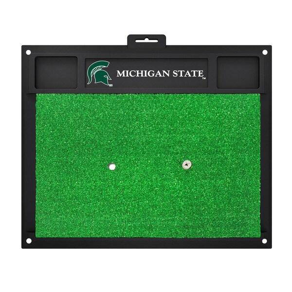Fanmats Michigan State Spartans Green Rubber Golf Hitting Mat
