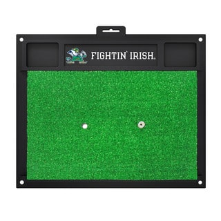 Fanmats Notre Dame Fighting Irish Green Rubber Golf Hitting Mat|https://ak1.ostkcdn.com/images/products/10526993/P17609671.jpg?impolicy=medium