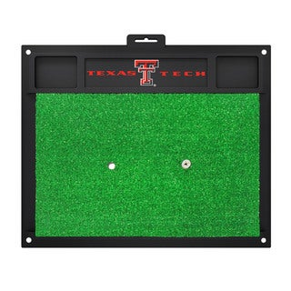 Fanmats Texas Tech Raiders Green Rubber Golf Hitting Mat