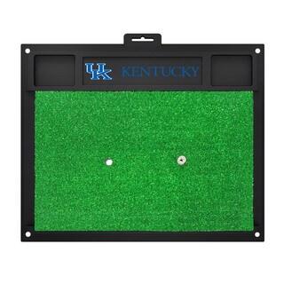 Fanmats Kentucky Wildcats Green Rubber Golf Hitting Mat