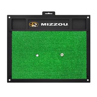Fanmats Missouri Tigers Green Rubber Golf Hitting Mat