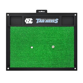 Fanmats North Carolina Tar Heels Green Rubber Golf Hitting Mat
