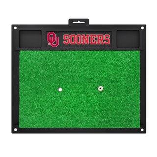 Fanmats Oklahoma Sooners Green Rubber Golf Hitting Mat|https://ak1.ostkcdn.com/images/products/10527020/P17609691.jpg?impolicy=medium