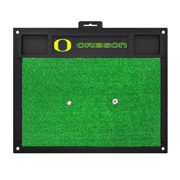 Fanmats Oregon Ducks Green Rubber Golf Hitting Mat