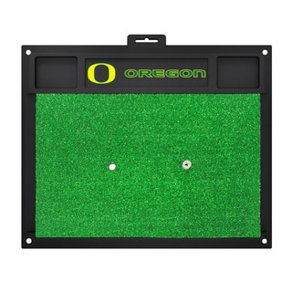 Fanmats Oregon Ducks Green Rubber Golf Hitting Mat