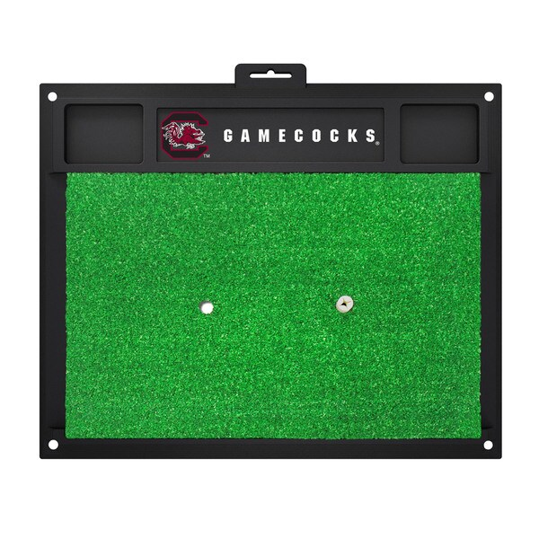Fanmats South Carolina Gamecocks Green Rubber Golf Hitting Mat