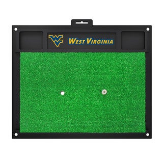 Fanmats West Virginia Mountaineers Green Rubber Golf Hitting Mat