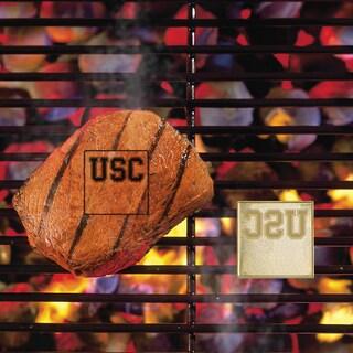 Fanmats USC Trojans Silver Metal Fan Brand